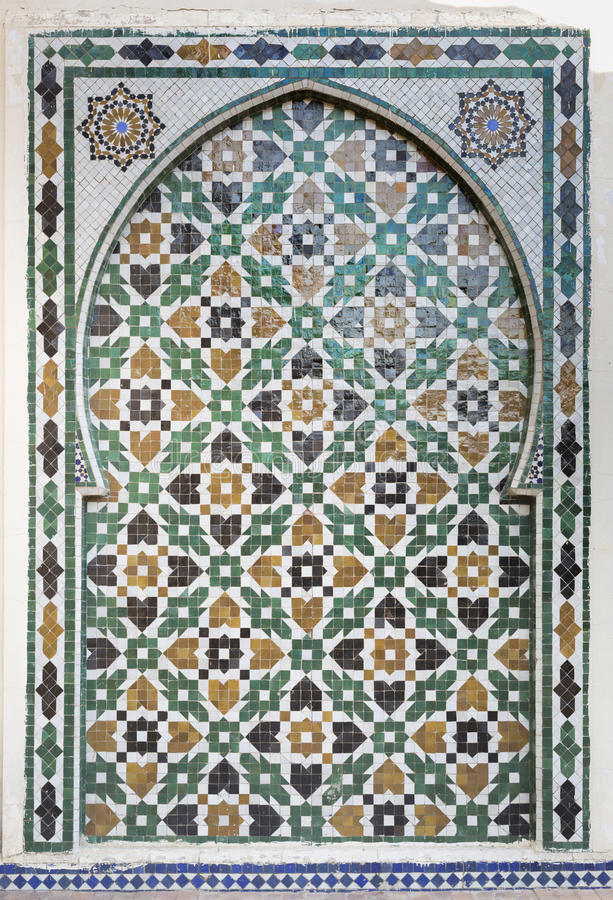 Fontaine marocaine photo stock