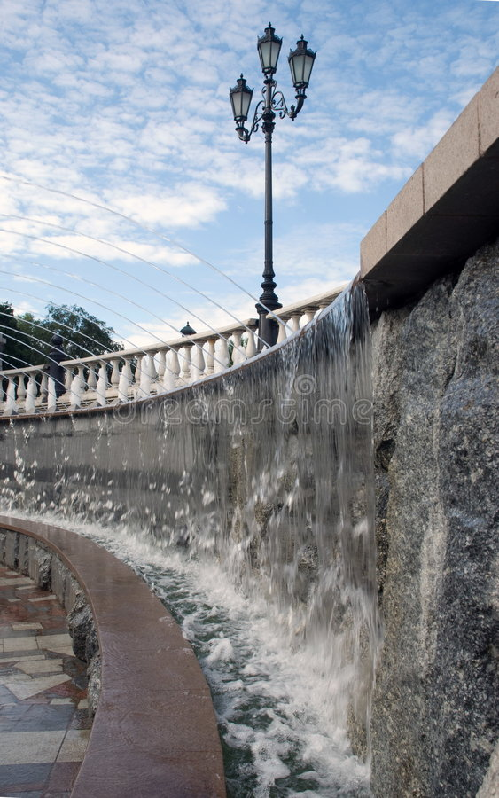 fontaine Moscou images stock