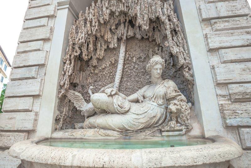 Fontaine Rome de Juno images libres de droits