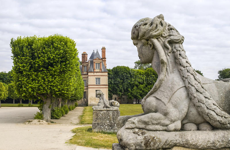 Download Fontainebleau stock photo. Image of nobody, ancient, france - 25435312