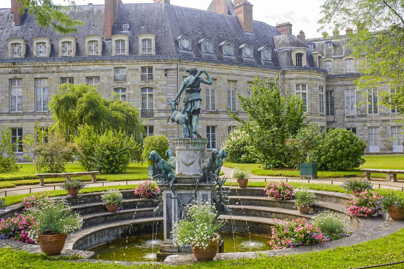 Fontainebleau royalty free stock image