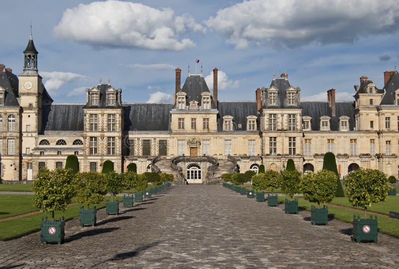Fontainebleau stock afbeeldingen