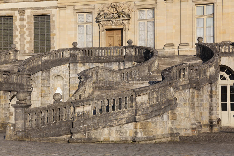 Download Fontainebleau castle stock image. Image of seine, touristic - 30018599