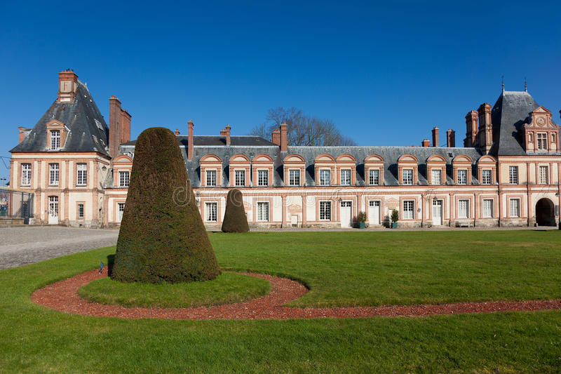 Download Fontainebleau castle stock photo. Image of chateau, facade - 30028502