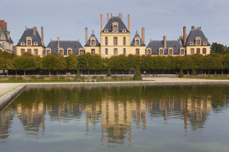 Download Fontainebleau castle stock photo. Image of garden, color - 34360062
