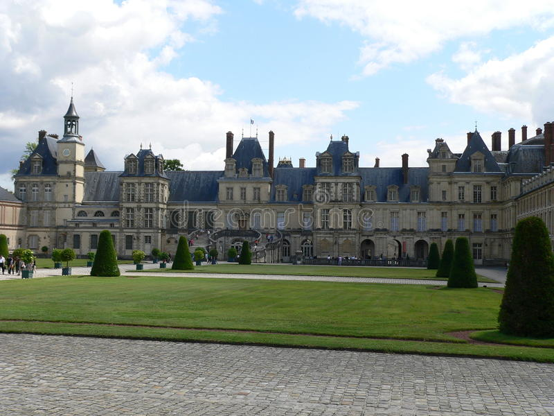 Fontainebleau ( France) Royalty Free Stock Images