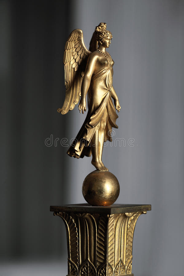 Fontainebleau, France - 15 août 2015 : Détails, statue et meubles image stock