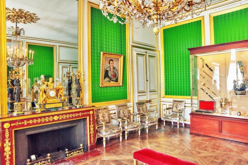 FONTAINEBLEAU, FRANCIA - 9 LUGLIO 2016: Palazzo int di Fontainebleau fotografie stock