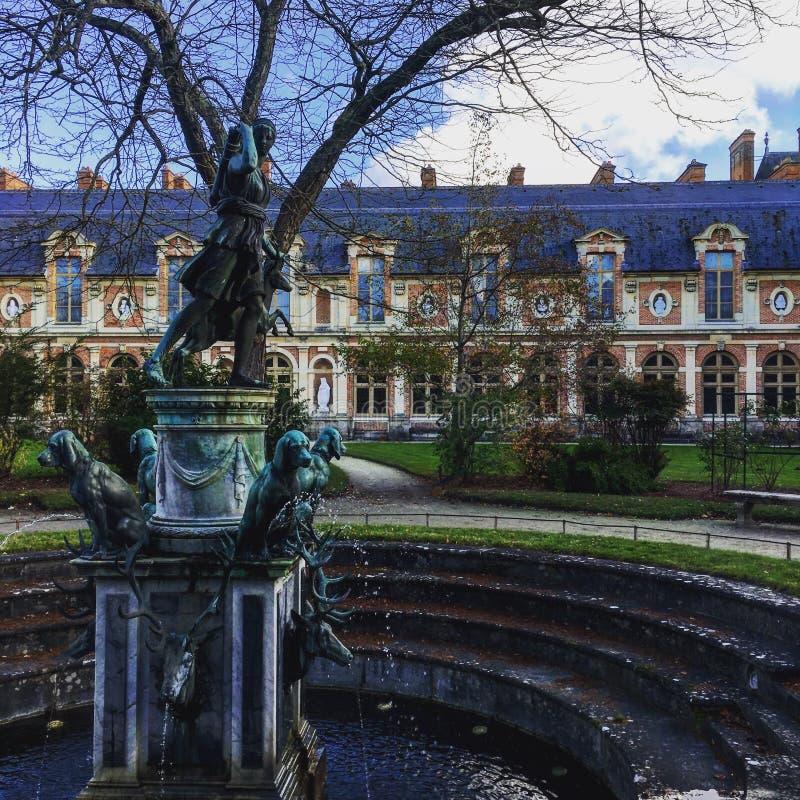 Fontainebleau stock photo