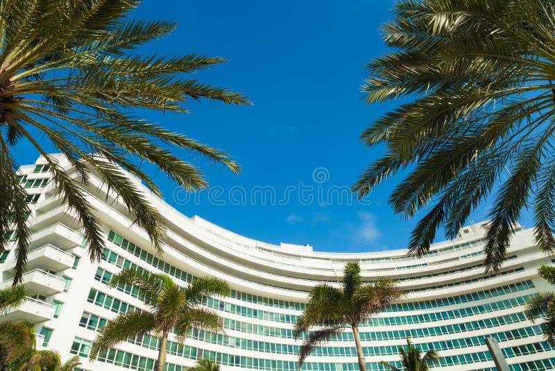 Fontainebleau-Hotel lizenzfreies stockfoto