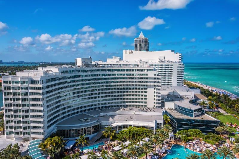 Fontainebleau kurort, Miami, Floryda obraz stock