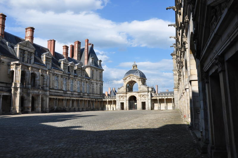 Fontainebleau stock photo