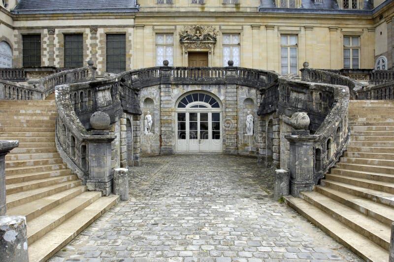 Fontainebleau palace stock photos