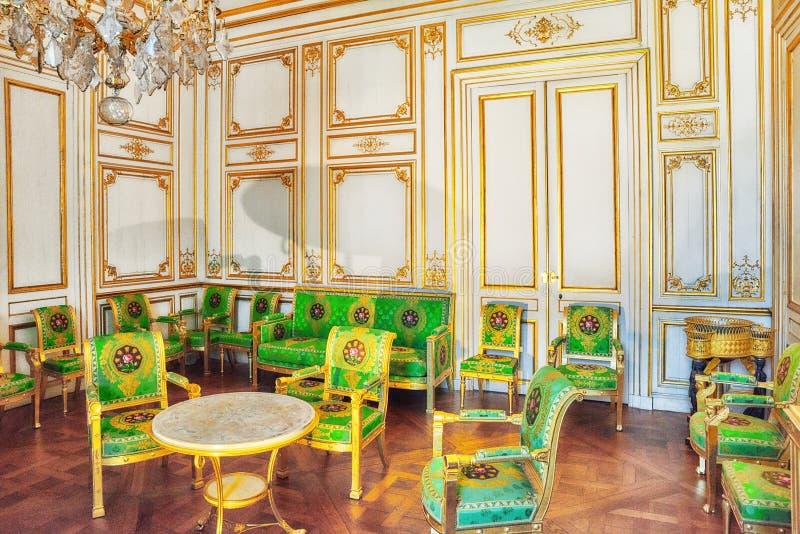 Fontainebleau-Palast stockbilder