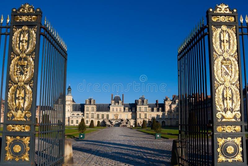 Fontainebleau-Schloss stockfoto