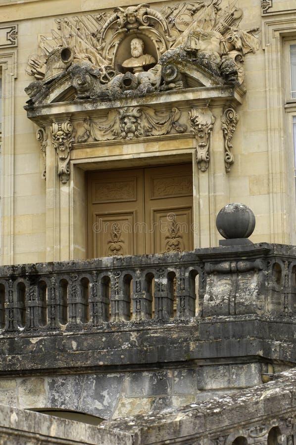 fontainebleau slott royaltyfria foton