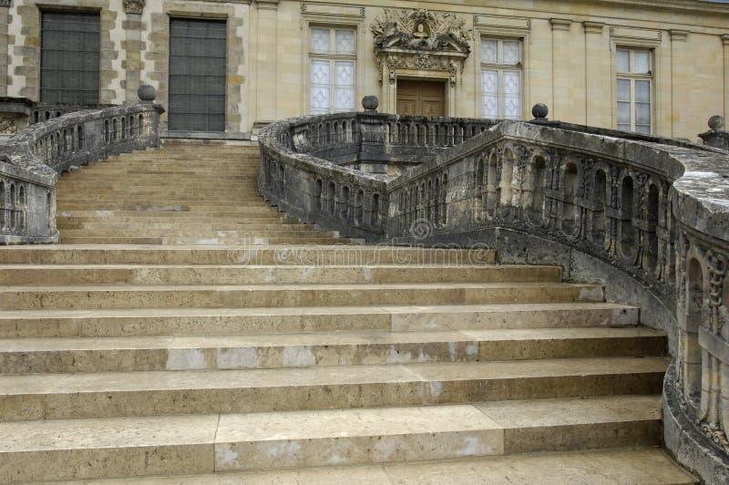 fontainebleau slott royaltyfri foto