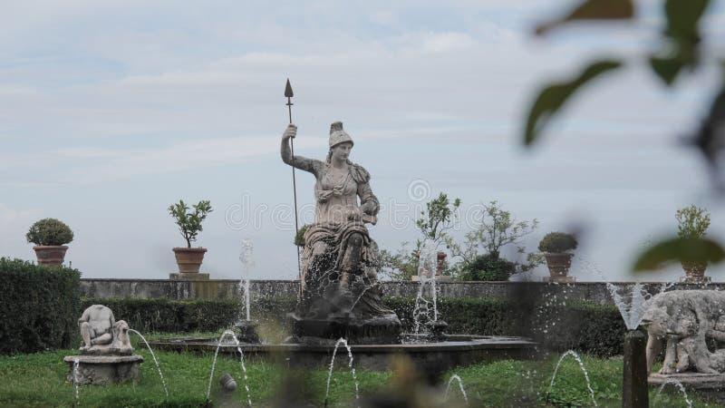 Fontaines dans Tivoli photo stock