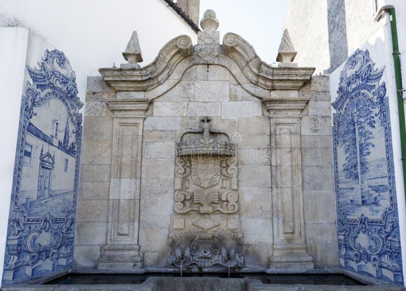 Fontana barrocco di Vinhais di Cano immagini stock