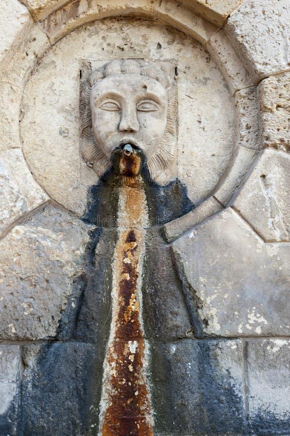 Fontana barrocco in Noto immagini stock libere da diritti