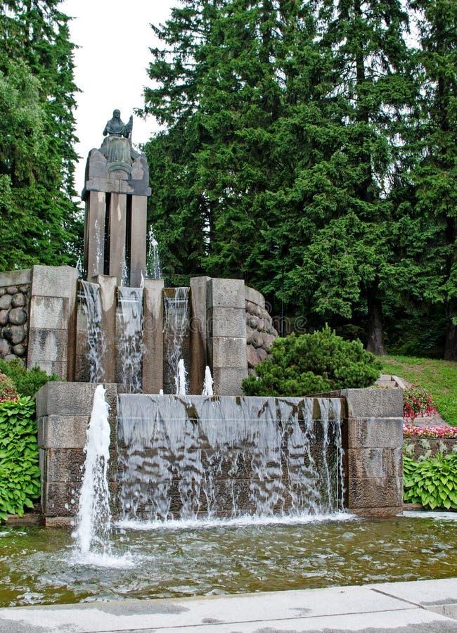 Fontana da Emil Wikstrom fotografia stock libera da diritti
