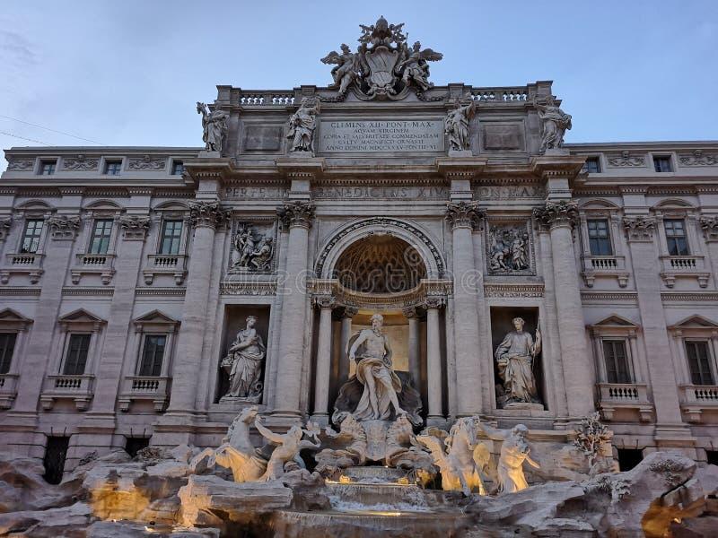 Fontana De Trevi stock photos