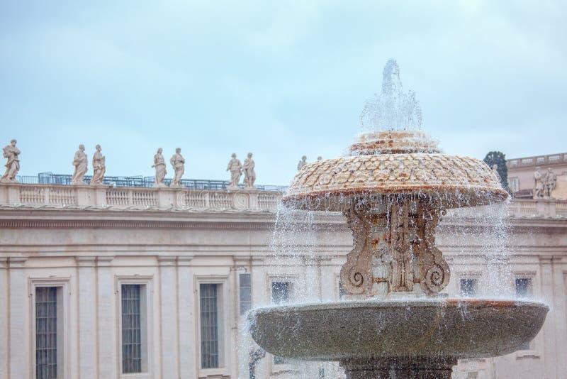 Fontana del Bernini fotografia de stock royalty free