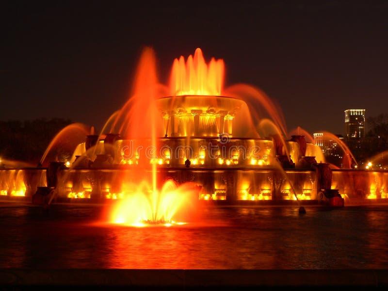 Fontana del memoriale di Buckingham fotografia stock