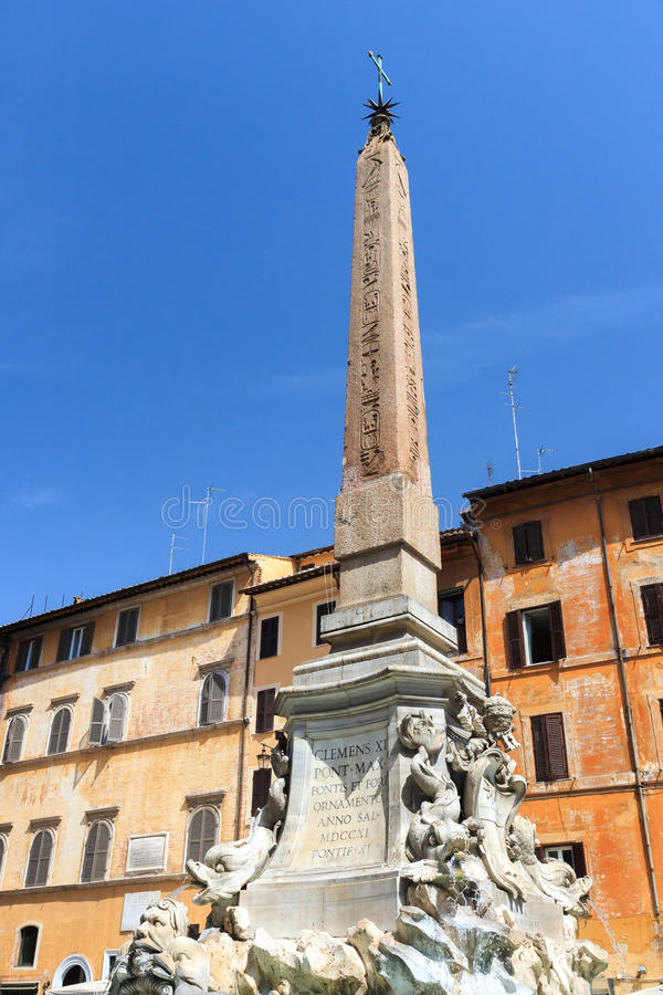 Fontana Del Panteon obraz royalty free