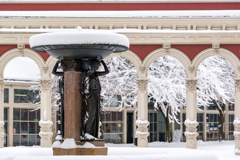 Fontana del quadrato di Ankeny fotografie stock