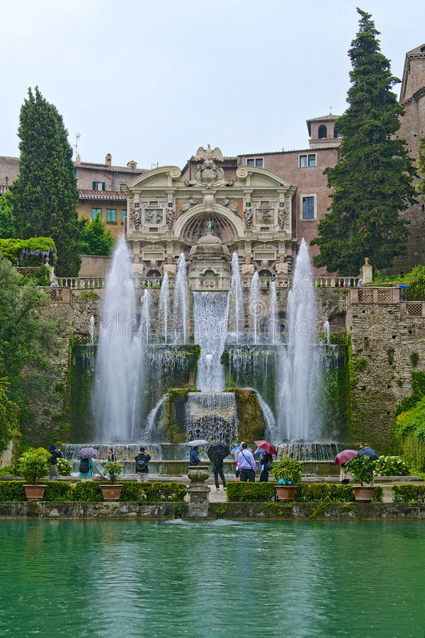 Monumental Classic Fountain Editorial Image