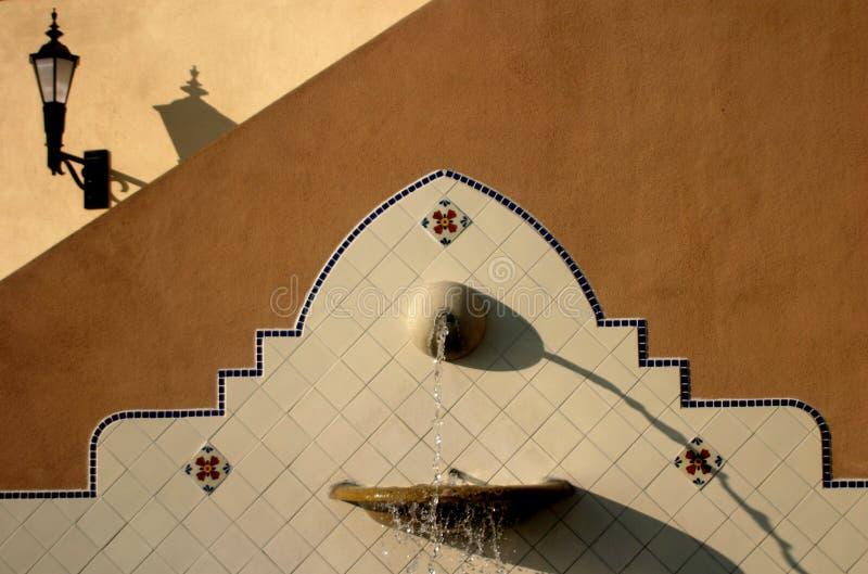 Fontana Della California Fotografia Stock