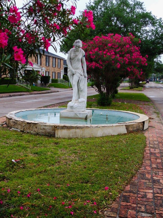 Fontana della dea fotografia stock