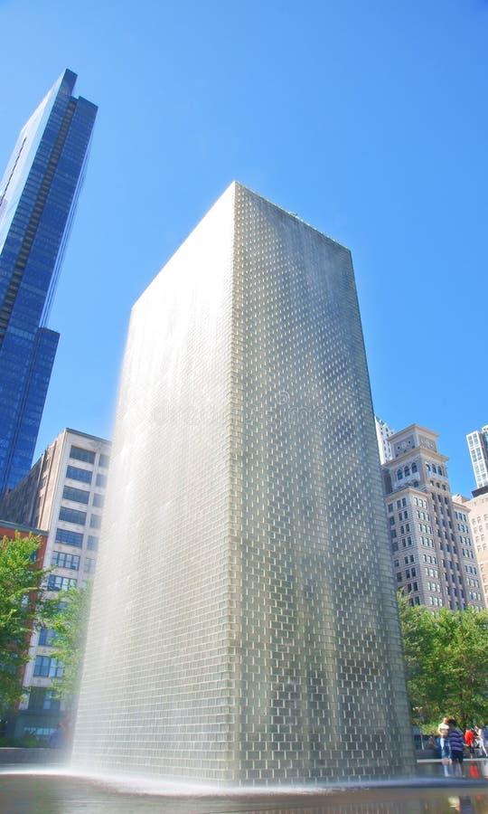Fontana della corona (Chicago) immagini stock