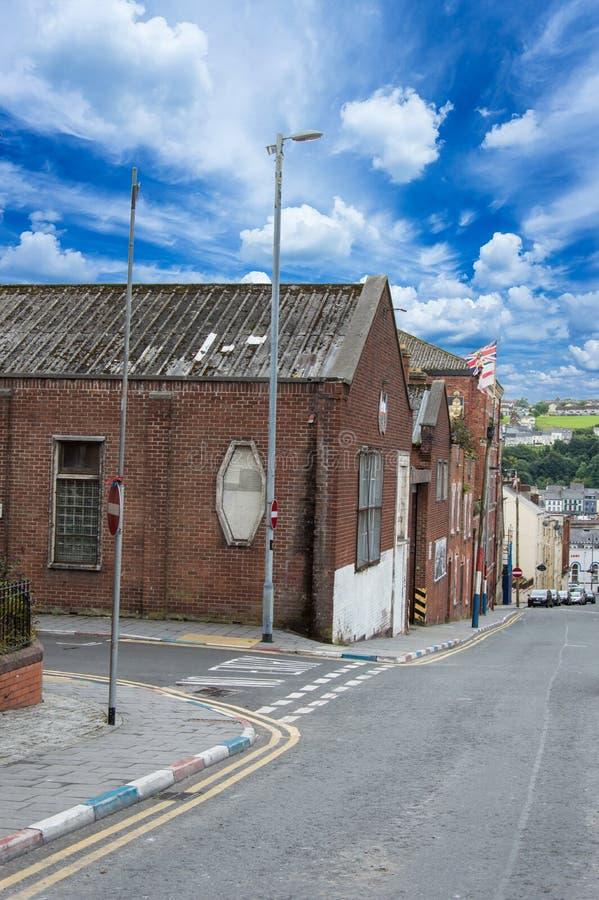 Fontana - Derry (Irlanda del Nord) immagini stock