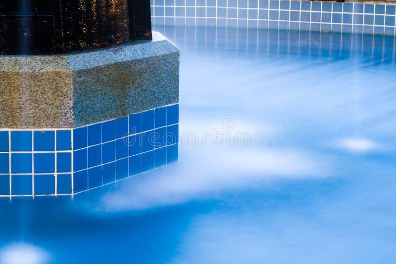 Fontana di acqua fotografia stock