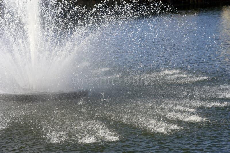 Fontana di acqua immagini stock