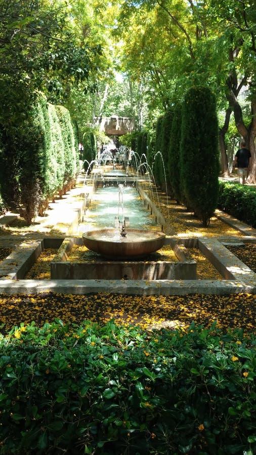 Fontana di Beatuiful fotografia stock libera da diritti