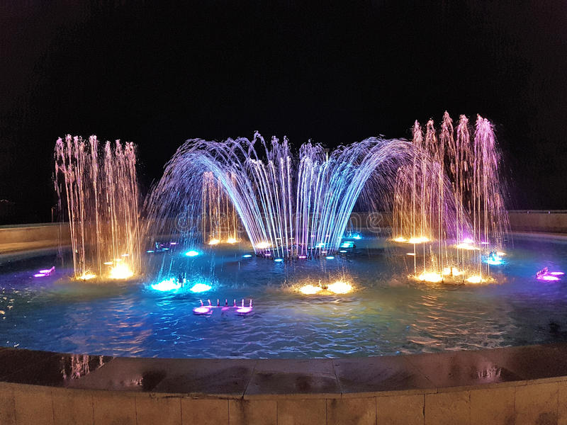 Fontana di Candia fotografia stock