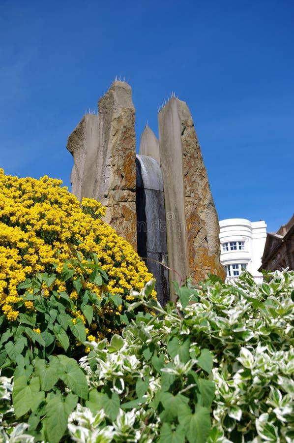 Fontana di Enigma in grande Malvern immagine stock