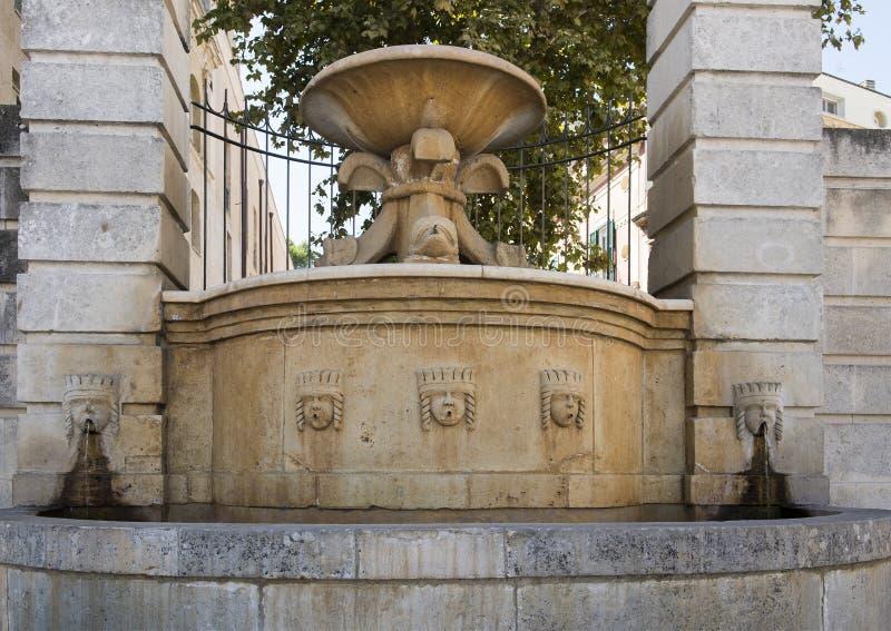 Fontana di Ferdinandea in Vittorio Veneto, Matera, Italia fotografia stock libera da diritti