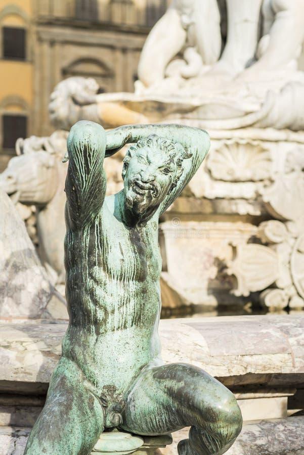 Download Fontana Di Nettuno A Firenze Fotografia Stock - Immagine di esterno, sculptural: 117976482