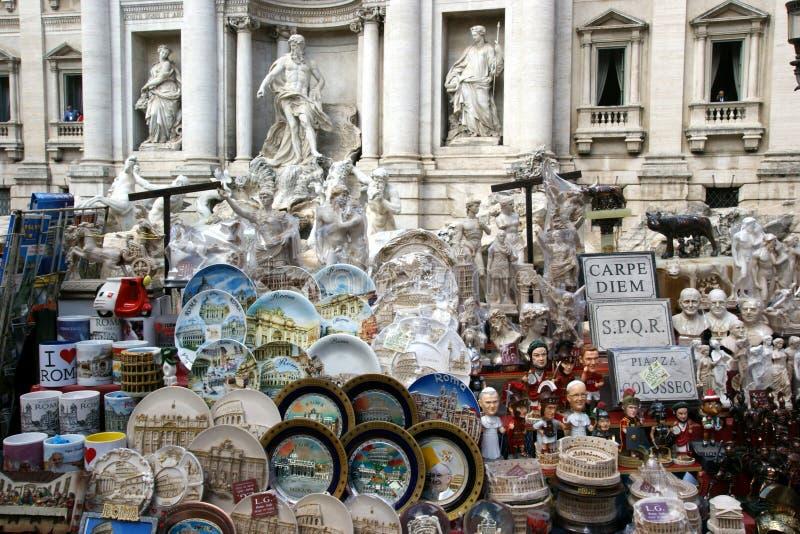 Fontana di Trevi -罗马 库存图片