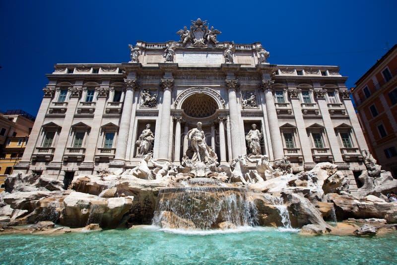 Fontana Di Trevi stock foto's