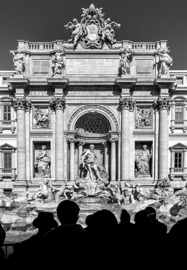 Fontana di Trevi lizenzfreies stockfoto