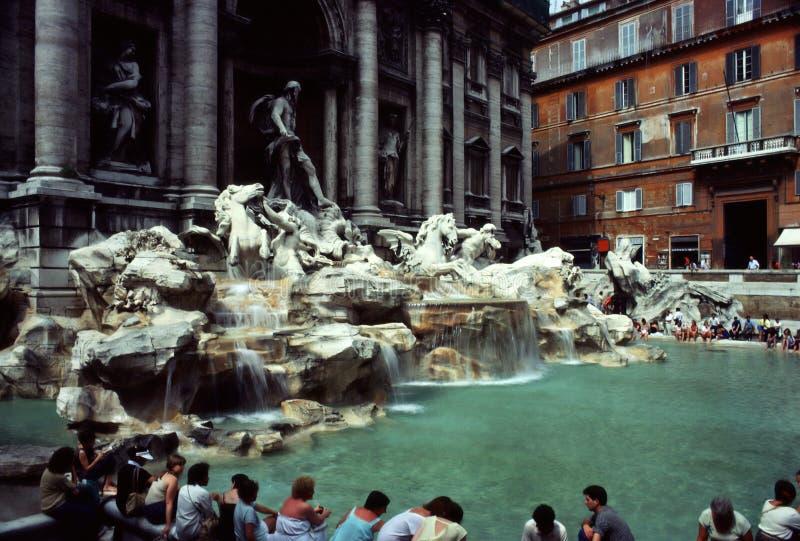 Fontana di Trevi fotografía de archivo