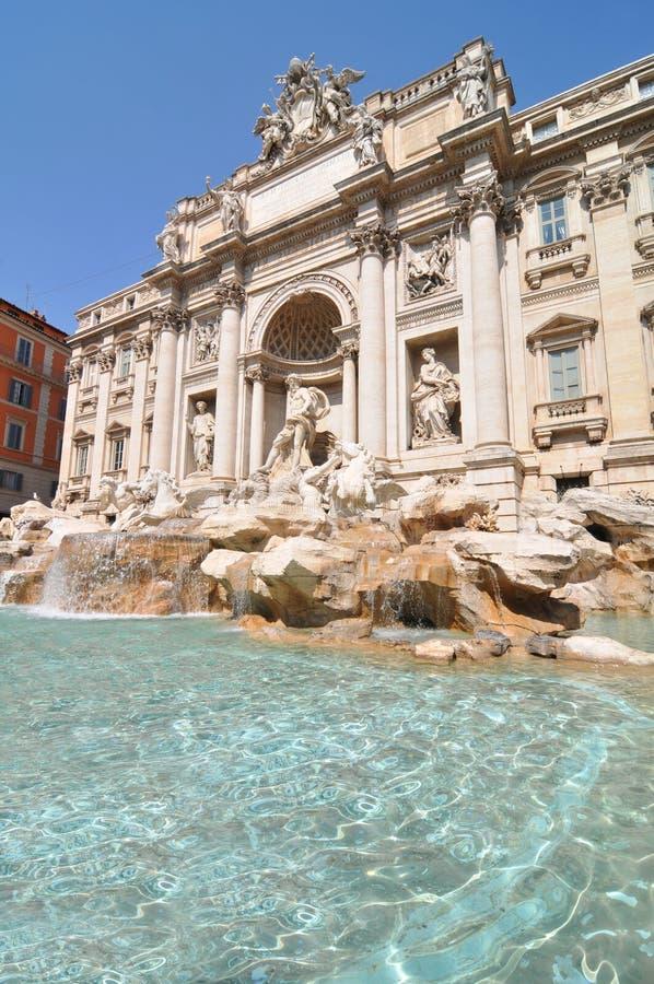 Fontana di Trevi. In Rome, Italy stock photo