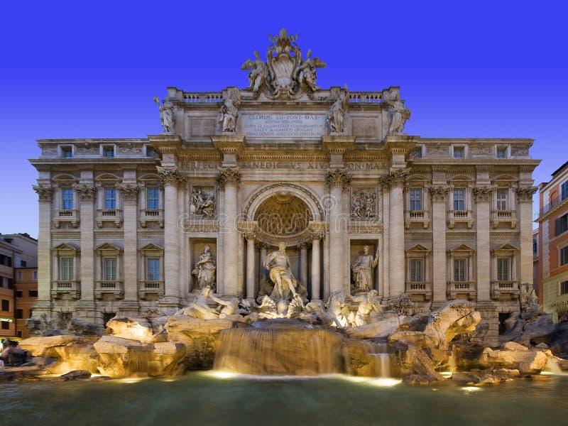 Fontana Di Trevi stock images