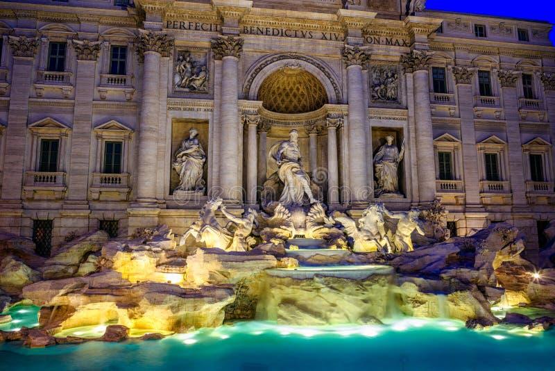 Fontana di Trevi 图库摄影