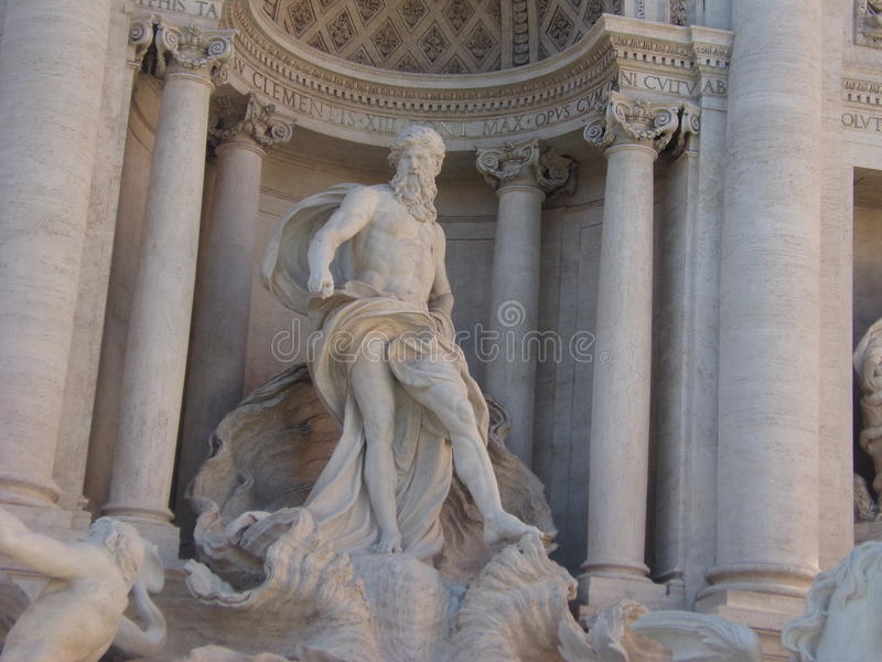 Fontana di trevi Italia fotografia stock